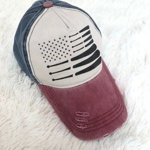 Baseball American flag hat 🇺🇸 ⚾️
